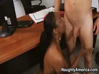 black mature woman with young boy