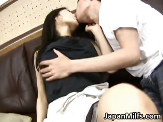 Horny japanese MILFS sucking and fucking part3