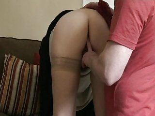 Fingering and handjob on wife