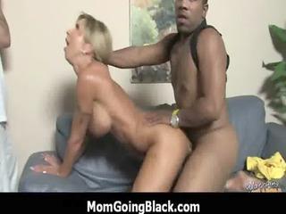 Big black cock bang my moms pussy : Interracial